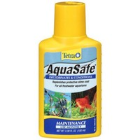 Tetra AquaSafe Declorinates & Conditions Aquarium Monthly Maintenance