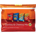 Doritos & Cheetos Tortilla Chips and Snacks Mix