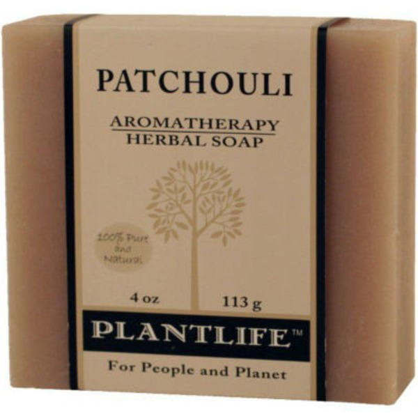 Plantlife Patchouli Aromatherapy Herbal Soap