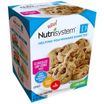 Nutrisystem D Chocolate Chip Cookie Packs