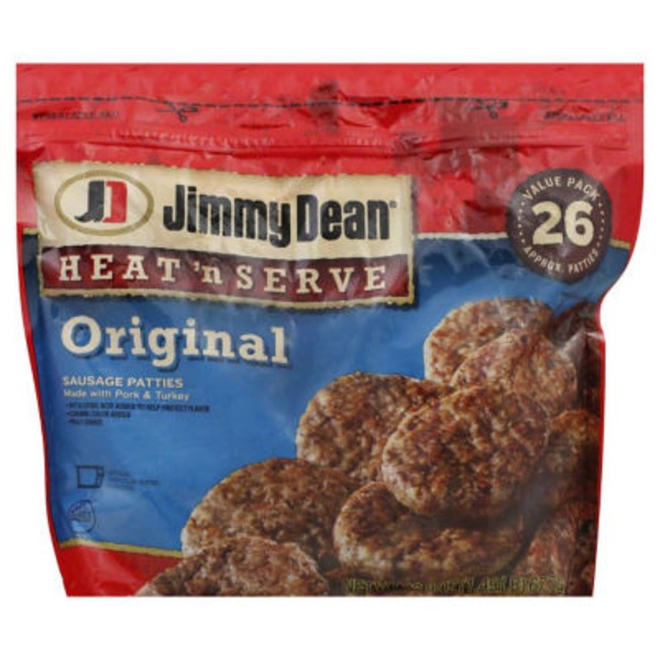 Jimmy Dean Original Value Pack Sausage Patties