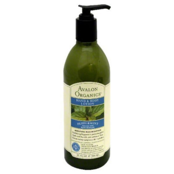 Avalon Organics Hand & Body Lotion Peppermint