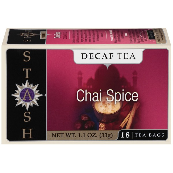 Stash Tea Chai Spice Decaf Tea Bags