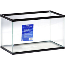 Basic Aquarium empty 10 gallon