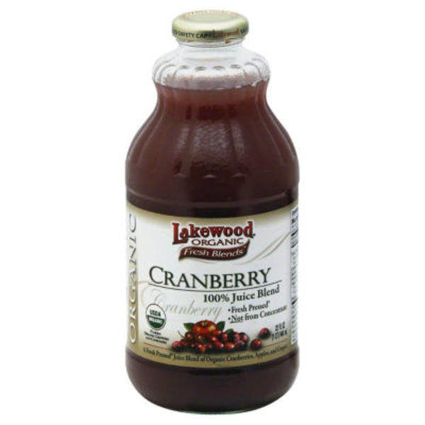 Lakewood Organic Organic Cranberry Juice
