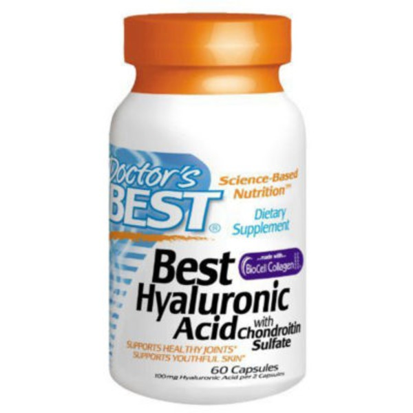 Doctor's BEST Best Hyaluronic Acid Capsules - 60 CT