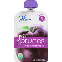 Plum Organics Just Prunes Stage 1 Organic Baby Food