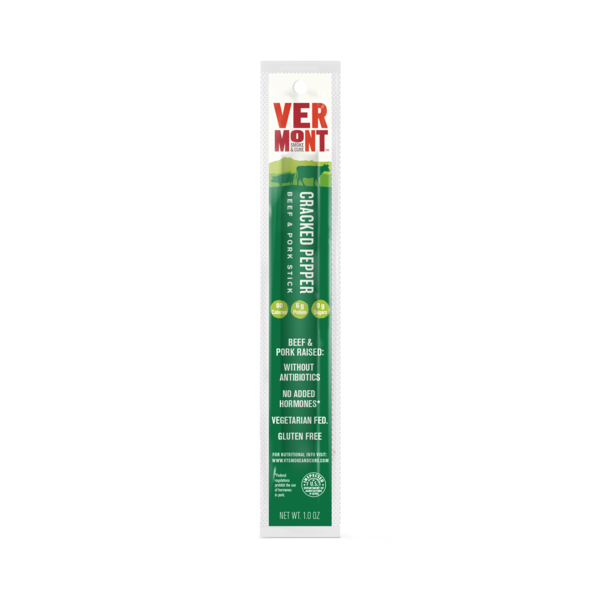 Vermont Smoke & Cure® Cracked Pepper Beef & Pork Stick