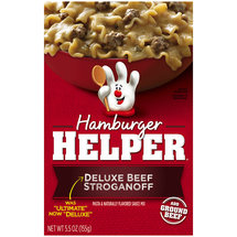 Betty Crocker Hamburger Helper Deluxe Beef Stroganoff