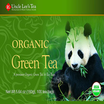 Uncle Lee's Tea Organic Green Tea Bags