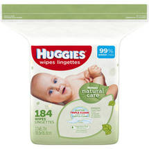 Huggies Natural Care Fragrance-Free Wipes