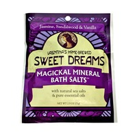Valentina's Home Brewed Sweet Dreams Magickal Mineral Bath Salt Jasmine,Sandalwood & Vanilla
