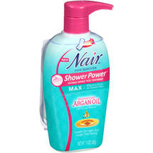 Nair Hair Remover Shower Power Max Moroccan Argan Oil Cream