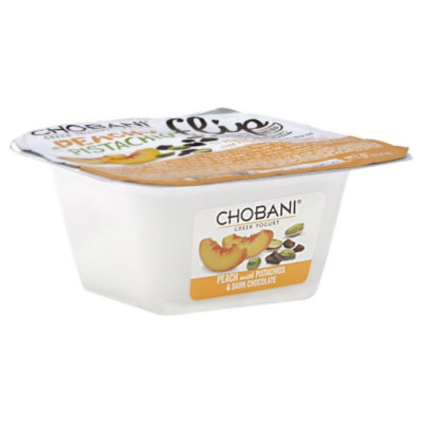 Chobani Flip Peachy Pistachio Low-Fat Greek Yogurt