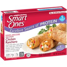 Weight Watchers Smart Ones Anytime Selections Chicken Ranchero Mini Wraps