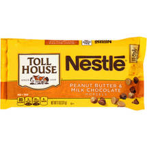 Nestle Toll House Peanut Butter & Milk Chocolate Morsels