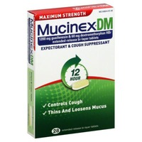 Mucinex Dm Maximum Strength Extended-Release Bi-Layer Tablets Expectorant/Cough Suppressant