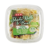H-E-B Shake Rattle & Bowl Zesty Italian Salad