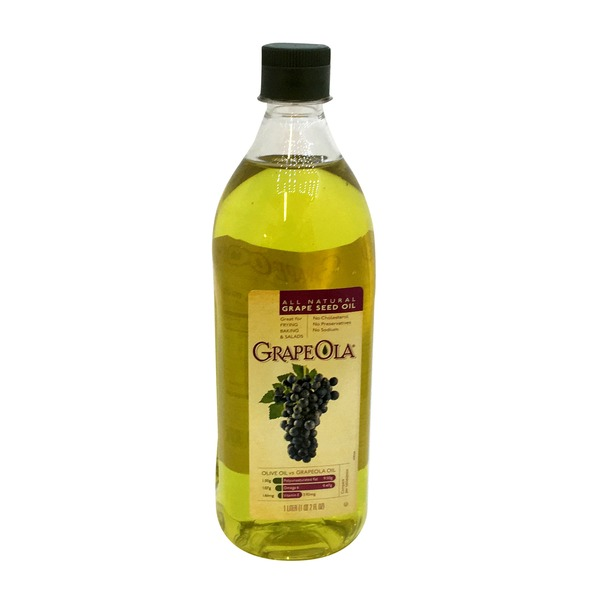 GrapeOla Grape Seed Oil, All Natural
