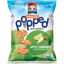 Quaker Apple Cinnamon Rice Snacks