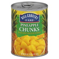 Hill Country Fare Pineapple Chunks
