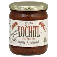 Xochitl Salsa, Stone Ground, Molcajete Style, Hot