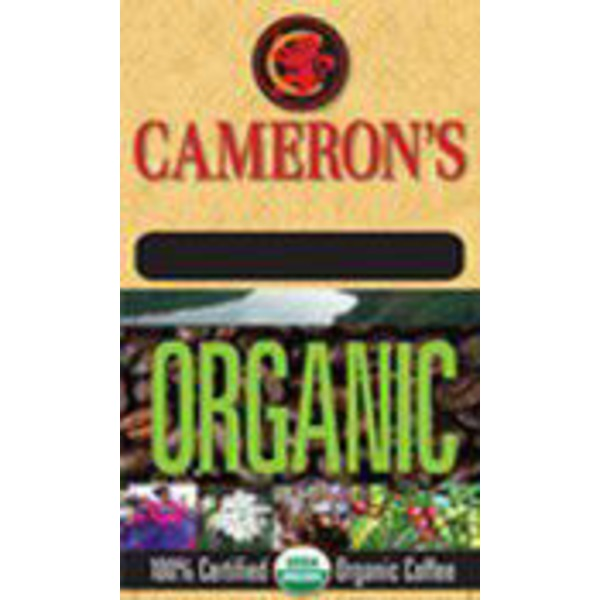 Cameron's Coffee Organic Breakfast Blend Whole Bean Coffee