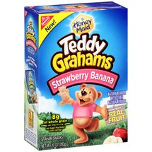 Nabisco Honey Maid Teddy Grahams Strawberry Banana Graham Snacks