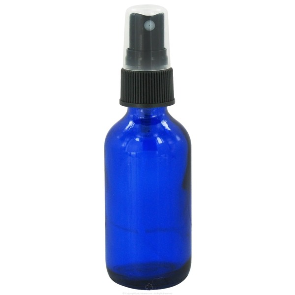 Wyndmere Blue Glass Bottle With Mist sprayer