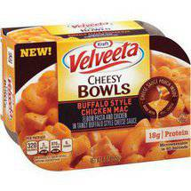 Kraft Velveeta Cheesy Bowls Buffalo Style Chicken Mac