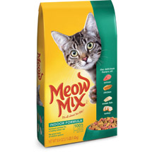 Meow Mix Indoor Formula Chicken Turkey Salmon & Ocean Fish Flavors Dry Cat Food