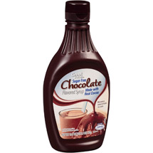 Great Value Sugar Free Chocolate Flavored Syrup