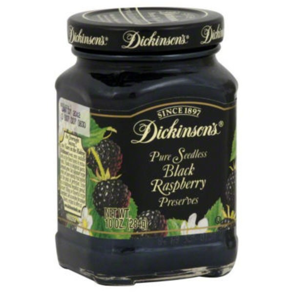T.N. Dickinson's Pure Seedless Black Raspberry Preserves
