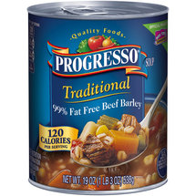Progresso Traditional 99% Fat Free Beef Barley Soup
