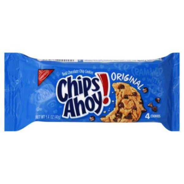 Chips Ahoy! Chocolate Chip Single Serve Cookies