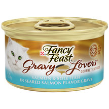 Purina Fancy Feast Gravy Lovers Salmon and Sole Feast Cat Food