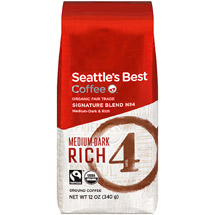 Seattle's Best Organic House Blend Ground Coffee