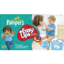 Pampers Easy Ups Boys' Training Pants 2T-3T