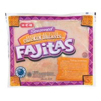 H-E-B Boneless Skinless Seasoned Chicken Breasts For Fajitas