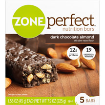 ZonePerfect Nutrition Bars Dark Chocolate Almond