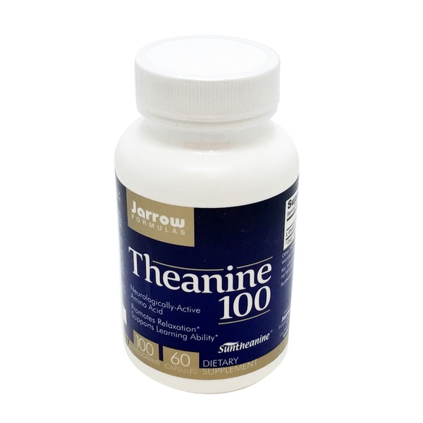 Jarrow Formulas Theanine 100 Mg Dietary Supplement