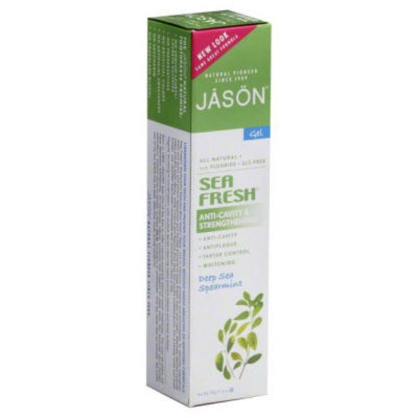 Jason Sea Fresh Anti-Cavity Strengthening Deep Sea Spearmint