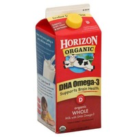 Horizon Organic Whole DHA Omega-3 Milk