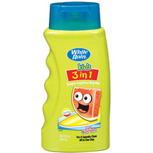 White Rain Kids 3 in 1 Zany Watermelon Shampoo