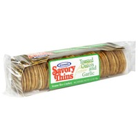 Sessmark Rice Thins, Toasted Onion & Garlic, Wrapper