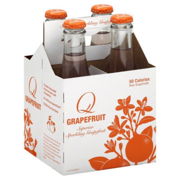 Q Grapefruit Superior Sparkling Soda