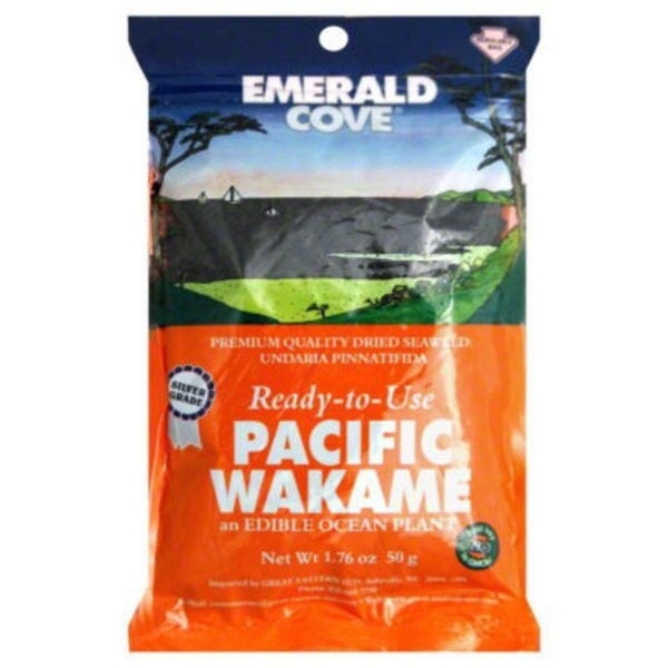 Emerald Cove Wakame, Pacific, Silver Grade, Ready-to-Use