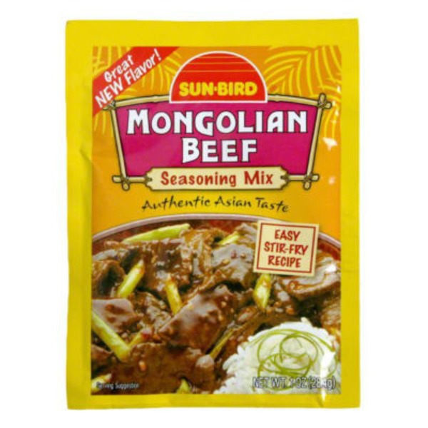 Sun-Bird Sun-Bird Mongolian Beef Seasoning Mix