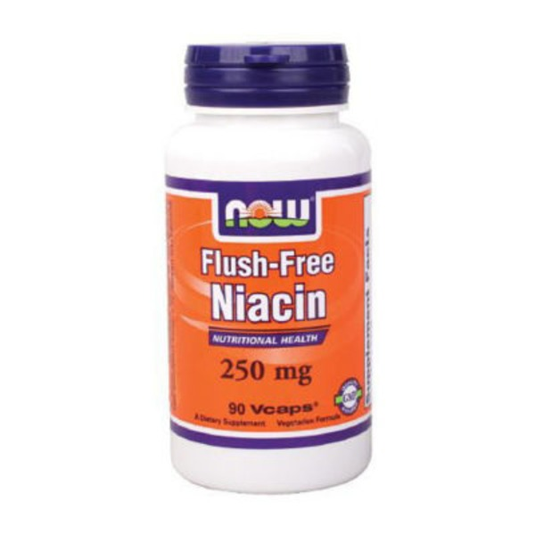 Now Flush Free Niacin 250 Mg