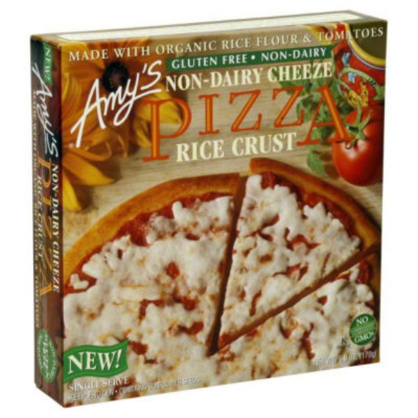 Amy's Gluten Free Rice Crust Pizza With Cheese